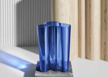Aalto Vase 217x155 Celebrating Finland 100 With Iittalas Ultramarine Blue