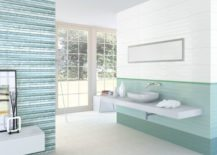 An-open-bathroom-with-a-light-turquoise-interior-217x155