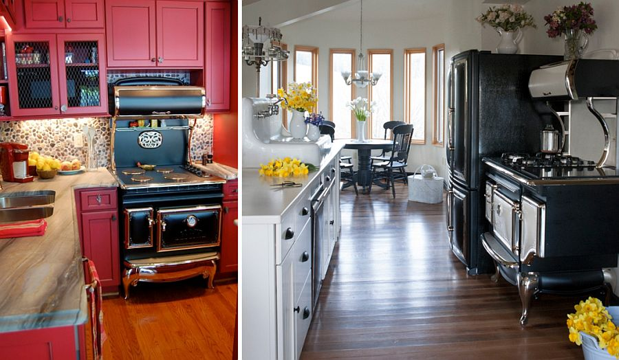 Antique series fits in easily with both modern and farmhouse style kitchens