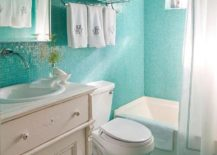 Bathroom-in-a-mesmerizing-shade-of-turquoise--217x155