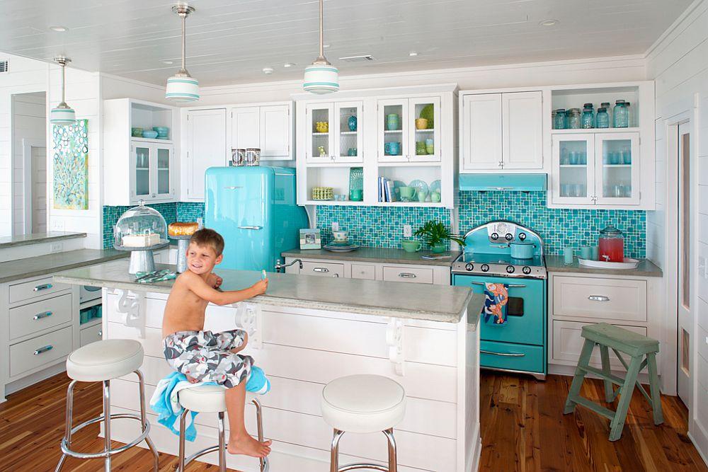 Beach House kitchen showcases the Northstar range