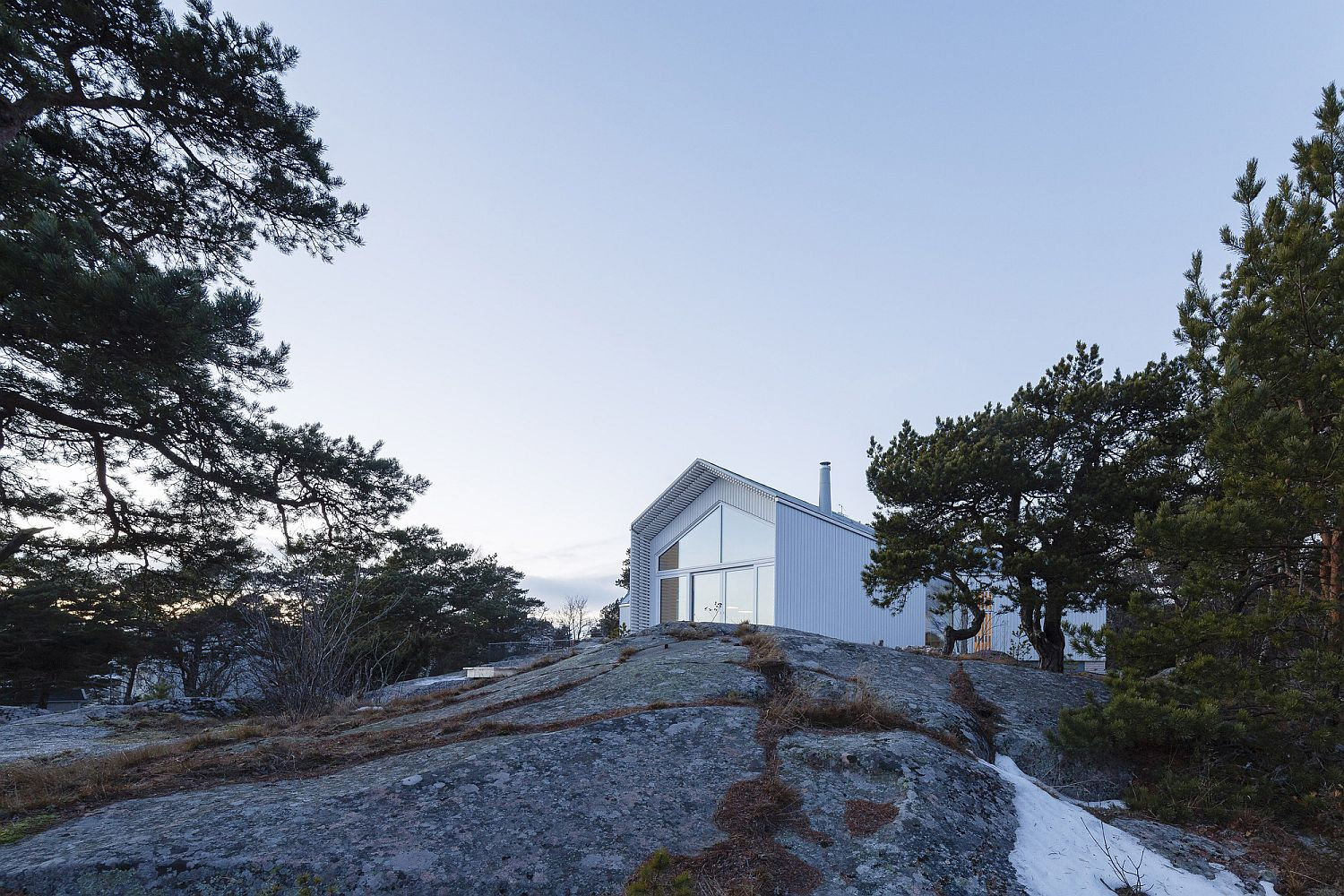 Bedrock provides stability and a unique landscape for the Finnish home