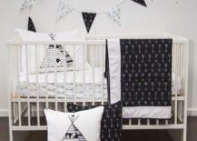 Black-and-white-nursery-with-hardwood-floors-217x155