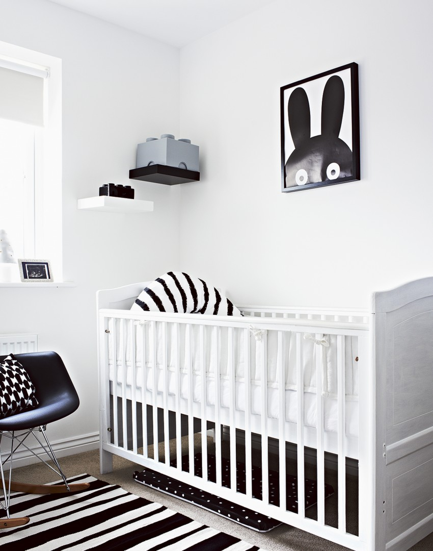 Exploring the elegance and minimalism of monochrome nurseries for Black and white baby room decor