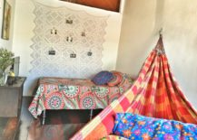 Bohemian-hammock-in-bright-and-cheerful-shades-of-red--217x155