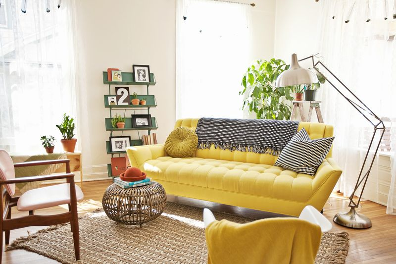 Superior Yellow Sofa: A Sunshine Piece For Your Living Area! Part 23
