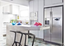 Cement-kitchen-island-and-cement-colored-ceiling-for-the-indoors-217x155