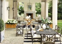 Charming-monochrome-rug-in-an-outdoor-setting-217x155