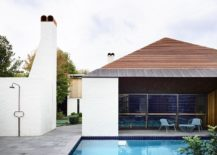Chimneys and brick exterior of the modern Aussie home 217x155 A Touch of Whimsy: Modern Melbourne Home with Edwardian Aesthetics