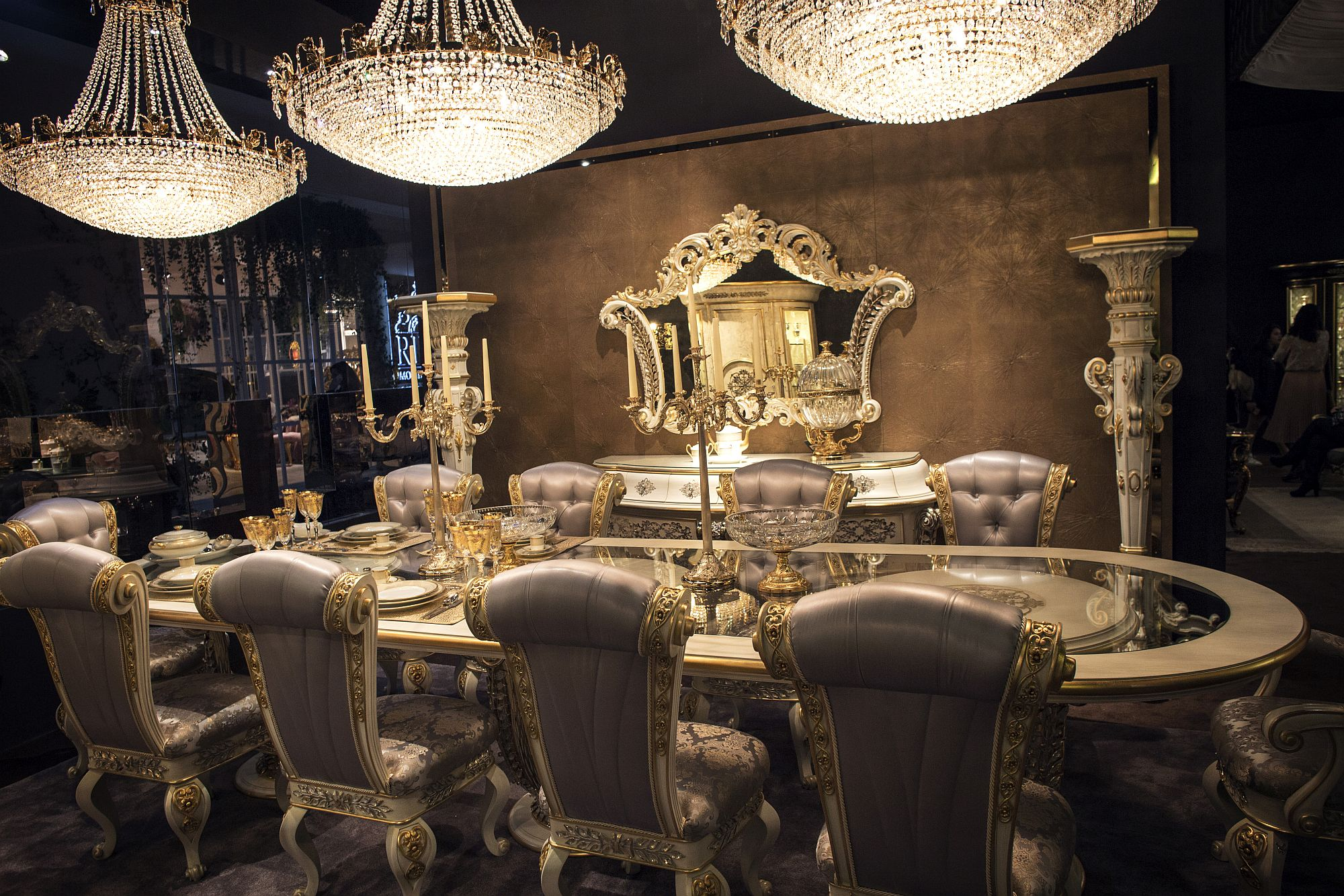 Luxury All The Way Awesome Dining Rooms Fit For Royalty