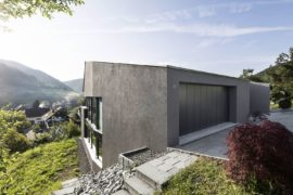 Swiss Delight: Modern Single Family House in Concrete and Wood