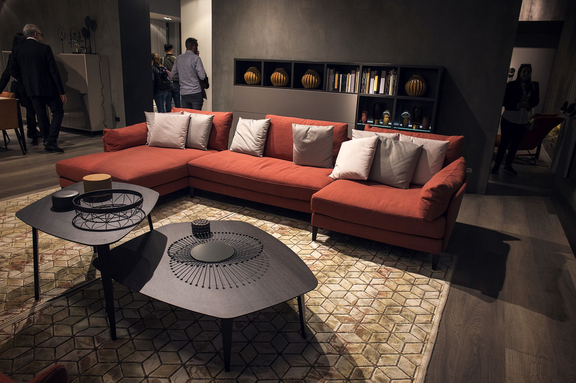 ... Living Space View In Gallery Contemporary Coffee Tables In Black ...