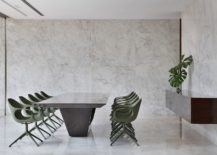Contemporary-minimal-dining-area-with-chairs-in-light-pastel-green-217x155