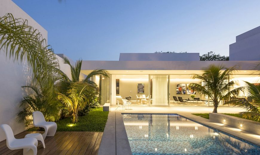 Ancha House in Yucatan Is The Perfect Indoor-Outdoor Space
