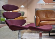 Corona chair and footstool 217x155 Erik Jørgensen: Classic Upholstered Design Since 1954