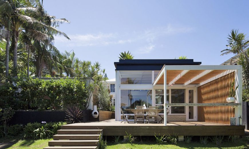 d+k House: Mid-Century Modernism Fused with Coastal Style and a Green Roof