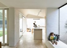 Exposed-and-painted-brick-walls-of-the-Melbourne-home-217x155