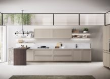 Exquisite modern kitchen Carattere from Scavolini 217x155 Carattere: Classical Contemporary Kitchen Blends Sophistication with Ease