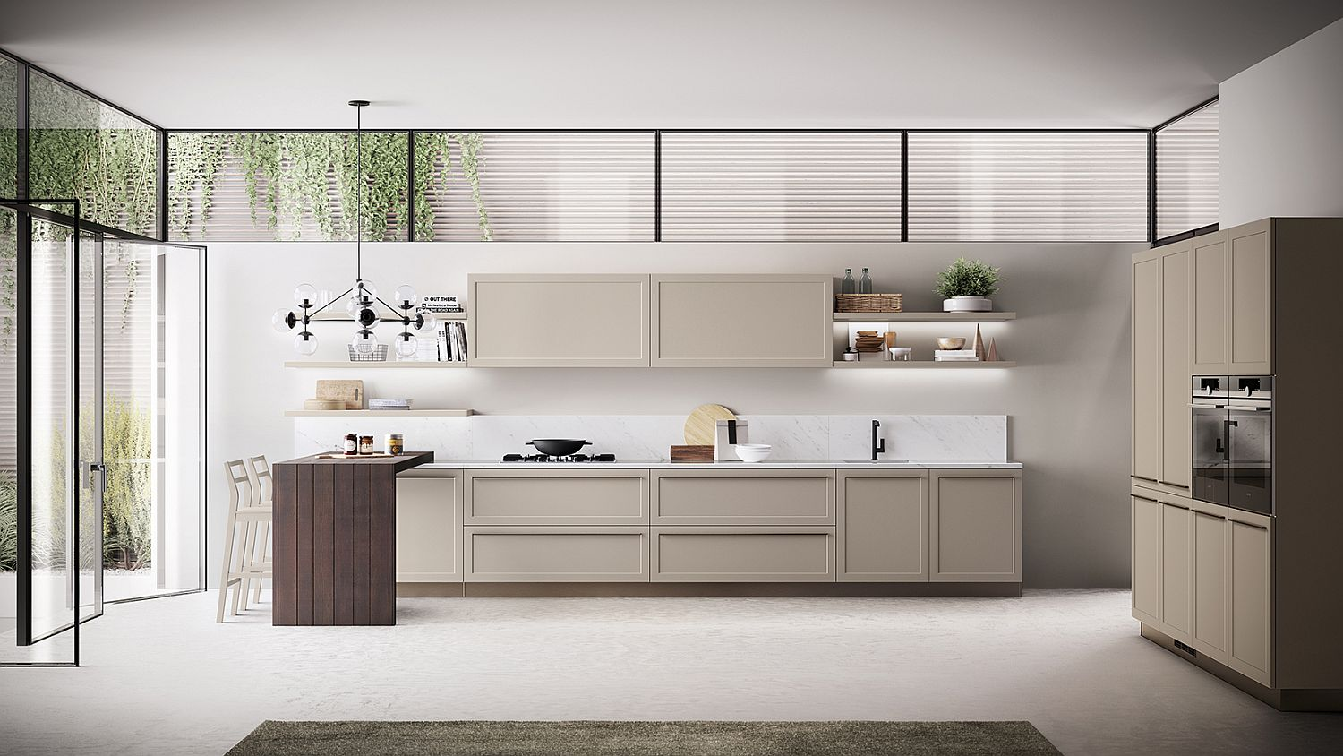 Carattere Classical Contemporary Kitchen Blends Sophistication With Ease