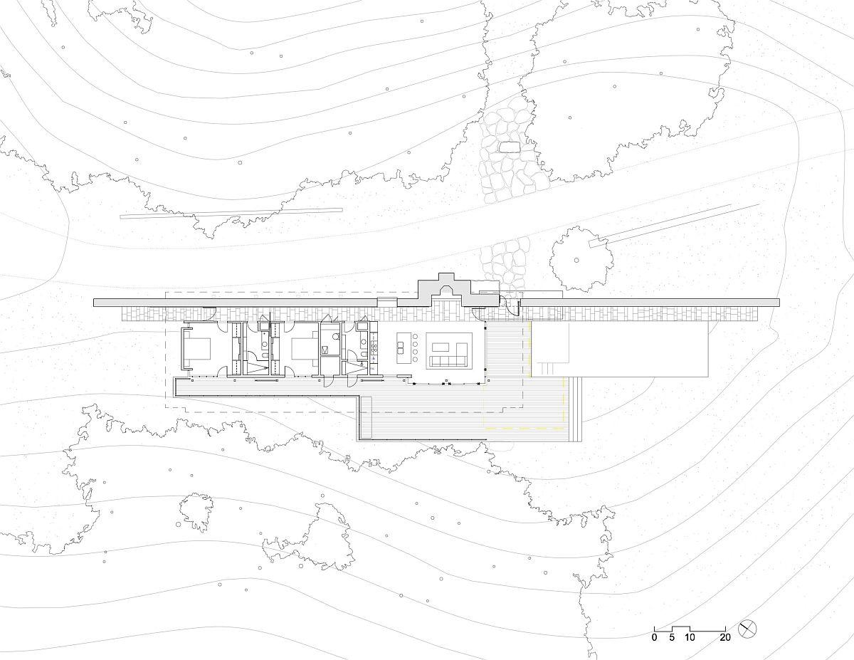 Floor-plan-of-Halls-Ridge-Knoll-Guest-House-in-Santa-Lucia-Preserve