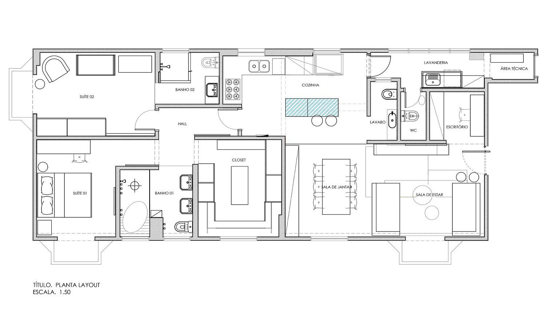 Floor-plan-of-modern-Apartment-Capela-in-Sao-Paulo