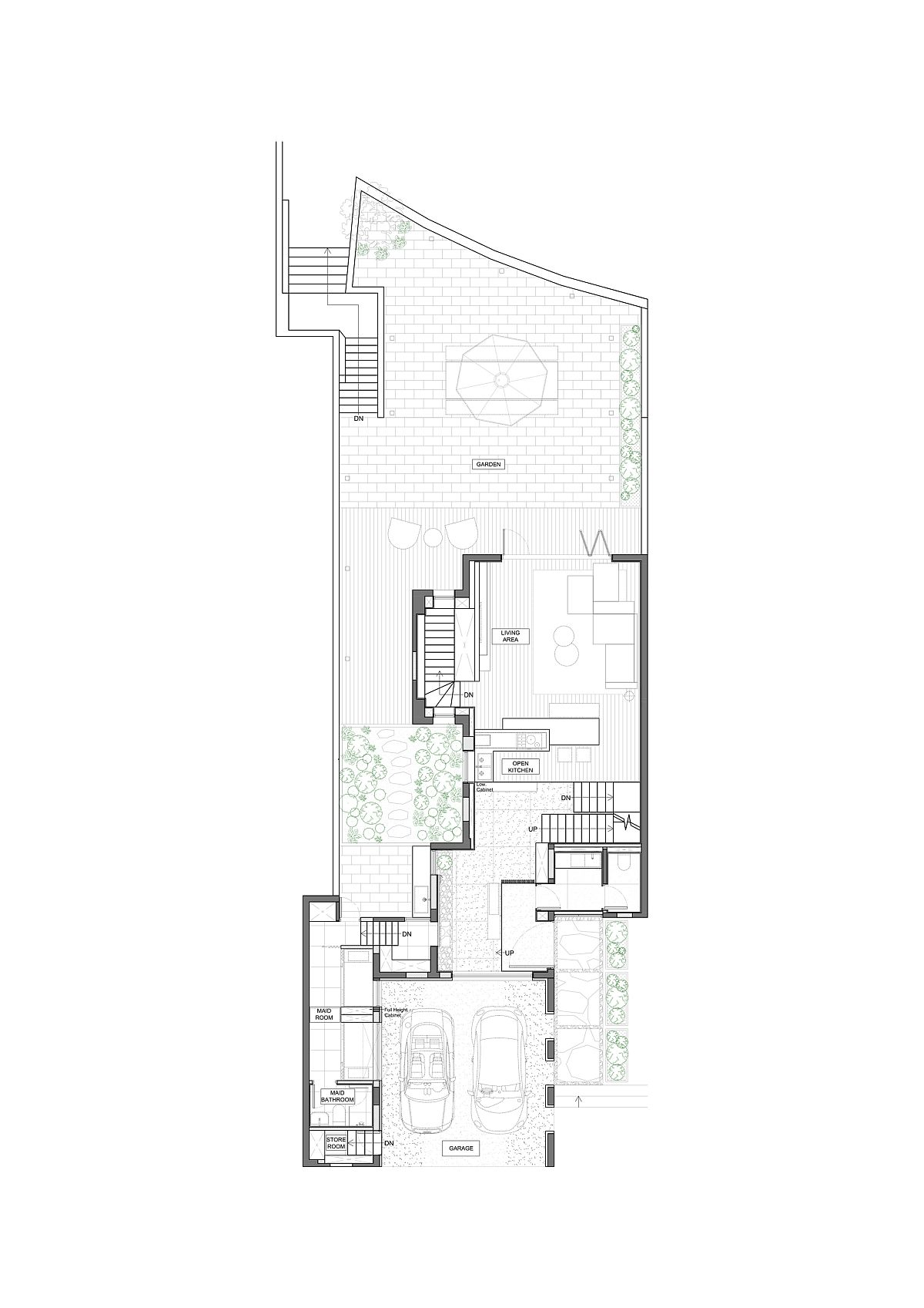 Floor-plan-of-the-lower-level-of-the-House-in-Silverstrand