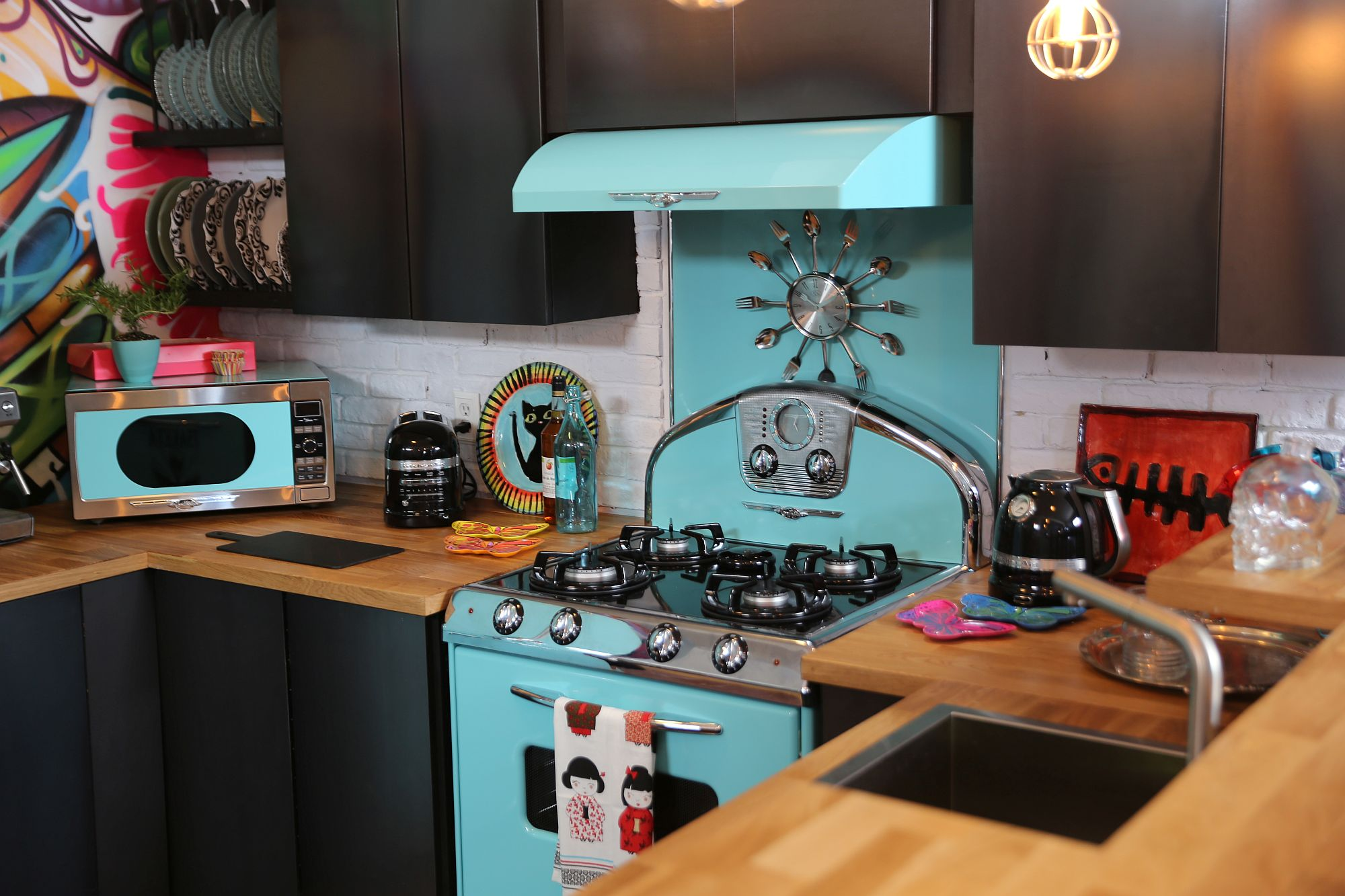 Give retro touches to modern kitchen with the Northstar series