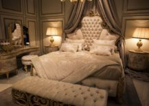 Gold-trims-and-finishes-bring-an-air-of-royalty-to-this-luxurious-bedroom-from-Andrea-Fanfani-217x155