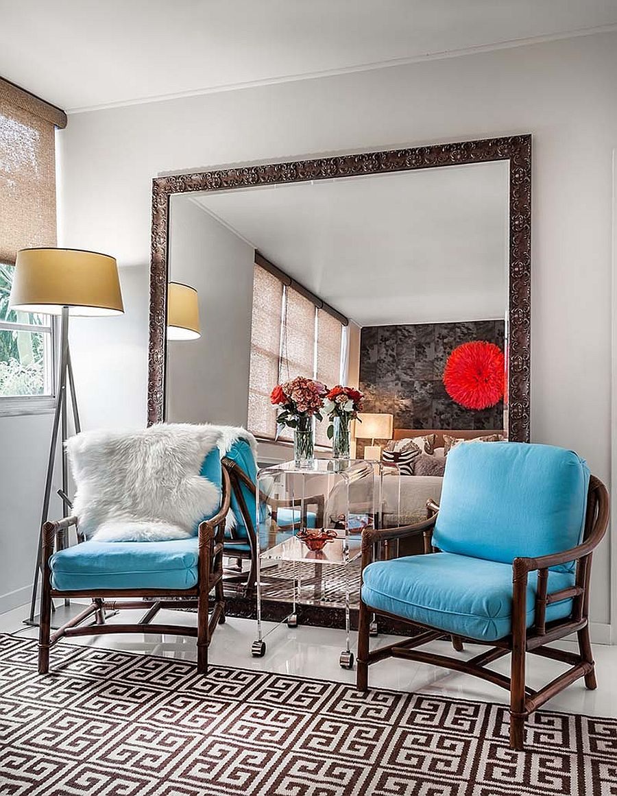 Style space and sparkle mirrors that make a statement