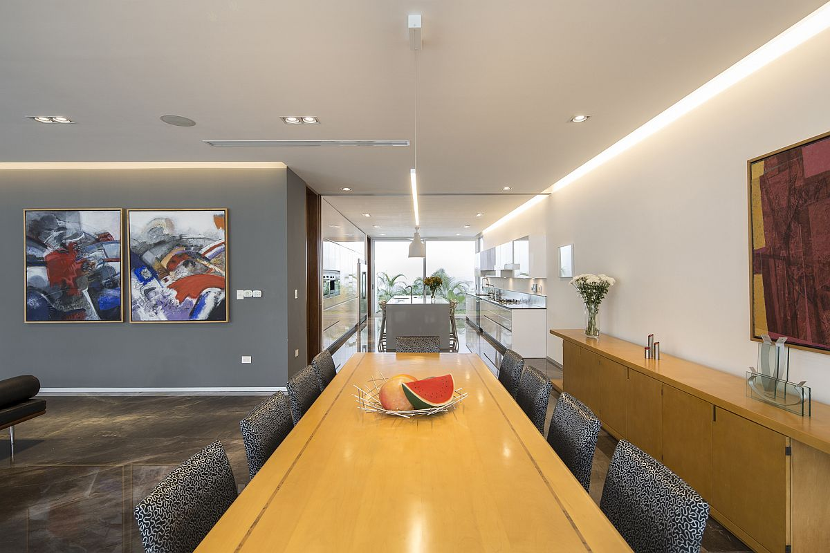 Gray-and-white-interior-of-the-Ancha-House