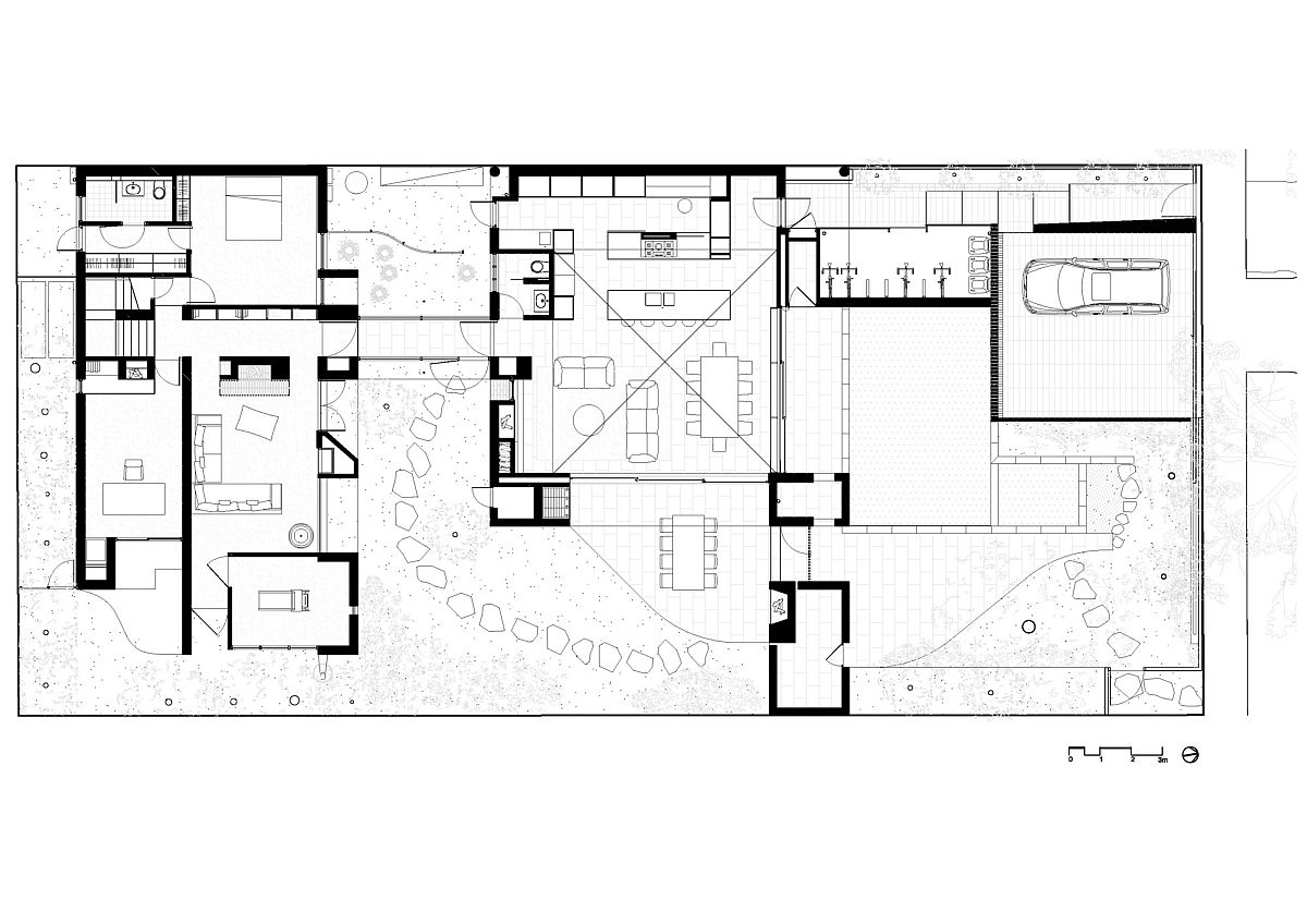 Ground-floor-plan-of-the-modern-Melbourne-house