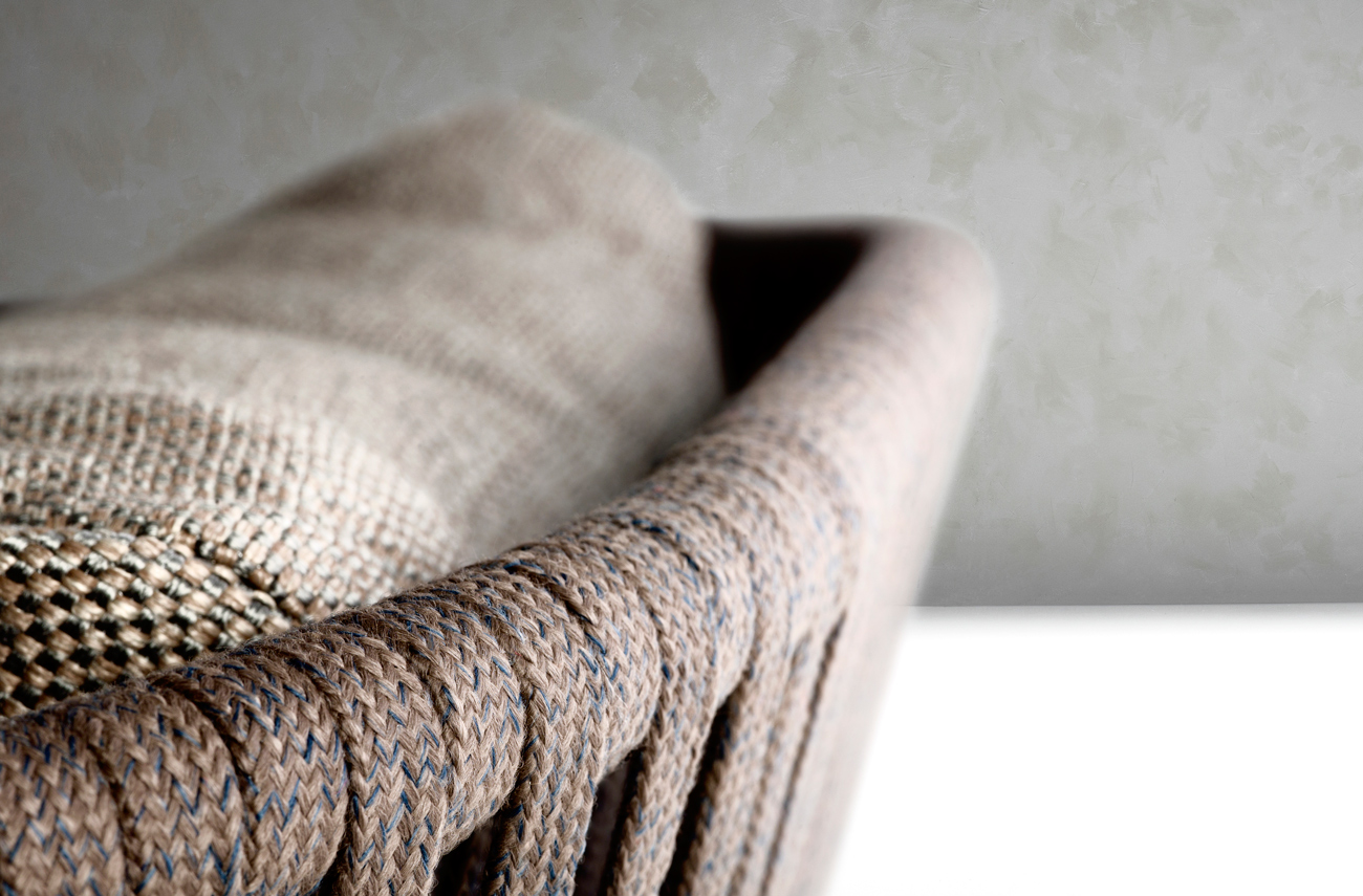 Handwoven-Tricord-in-stonegrey-shapes-ultra-comfy-outdoor-armchairs