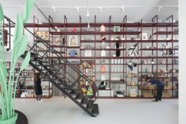 Revitalized Interior of Groos: Creative Display Set in an Open Floor Space