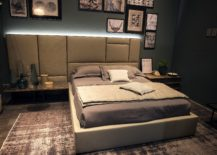 Inventive-headboard-design-and-low-slung-bedside-tables-for-the-small-bedroom-217x155