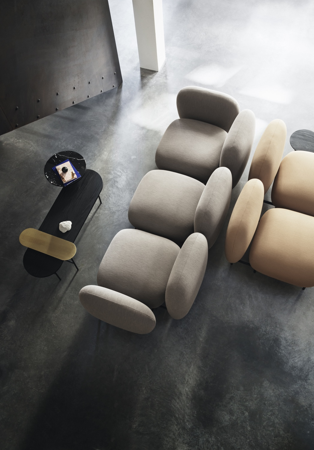 Isole 3-seater and 2-seater