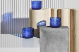 Celebrating Finland 100 With Iittala's Ultramarine Blue