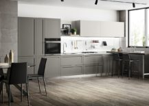 L-shaped-kitchen-in-the-corner-in-gray-and-white-217x155