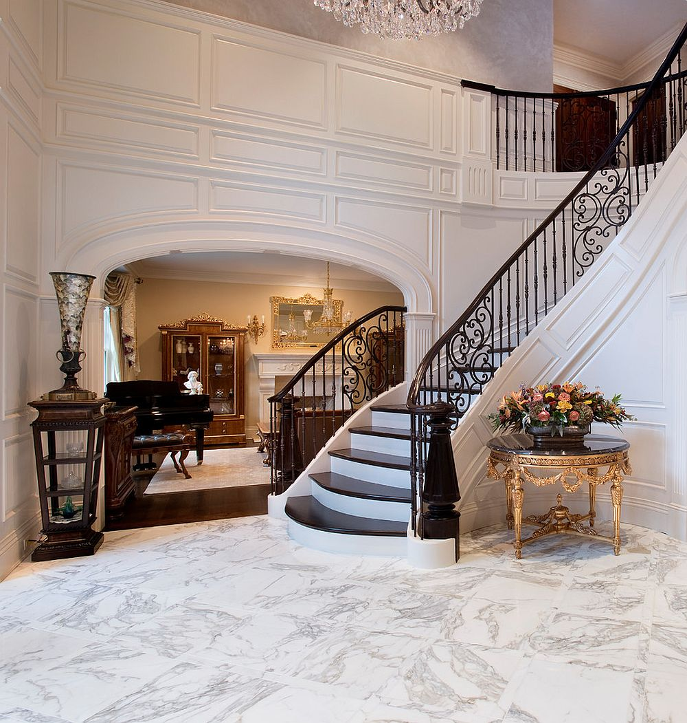 Modern Victorian Foyer : Grand revival splendid entryways that bring back