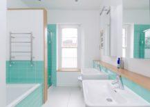 Luminous-turquoise-and-white-bathroom--217x155
