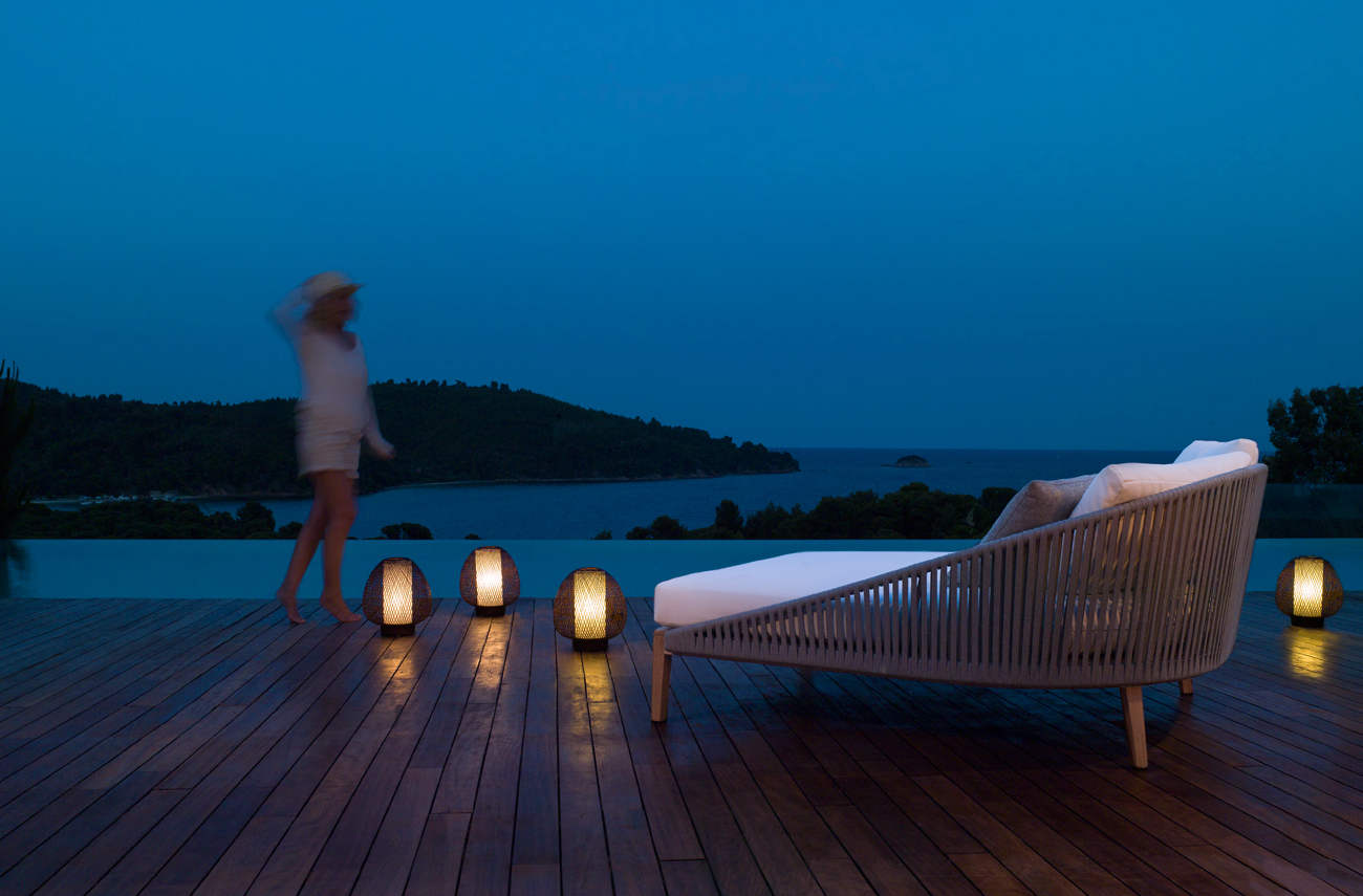 Luxurious Mood lounger from Tribu