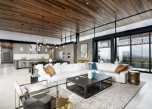 Main living area of the Nevada home 217x155 Contemporary Luxury Home with Vegas Shining Bright in the Distance!