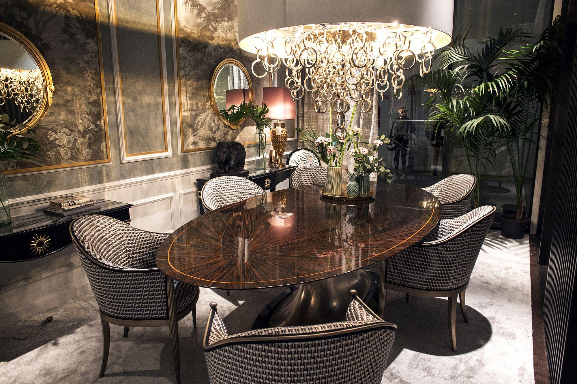 Modern-dining-room-aesthetics-with-stunning-lighting-and-plenty-of-elegance