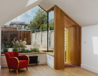 This Grade II Listed English Cottage Gets a Picture-Perfect Modern Extension