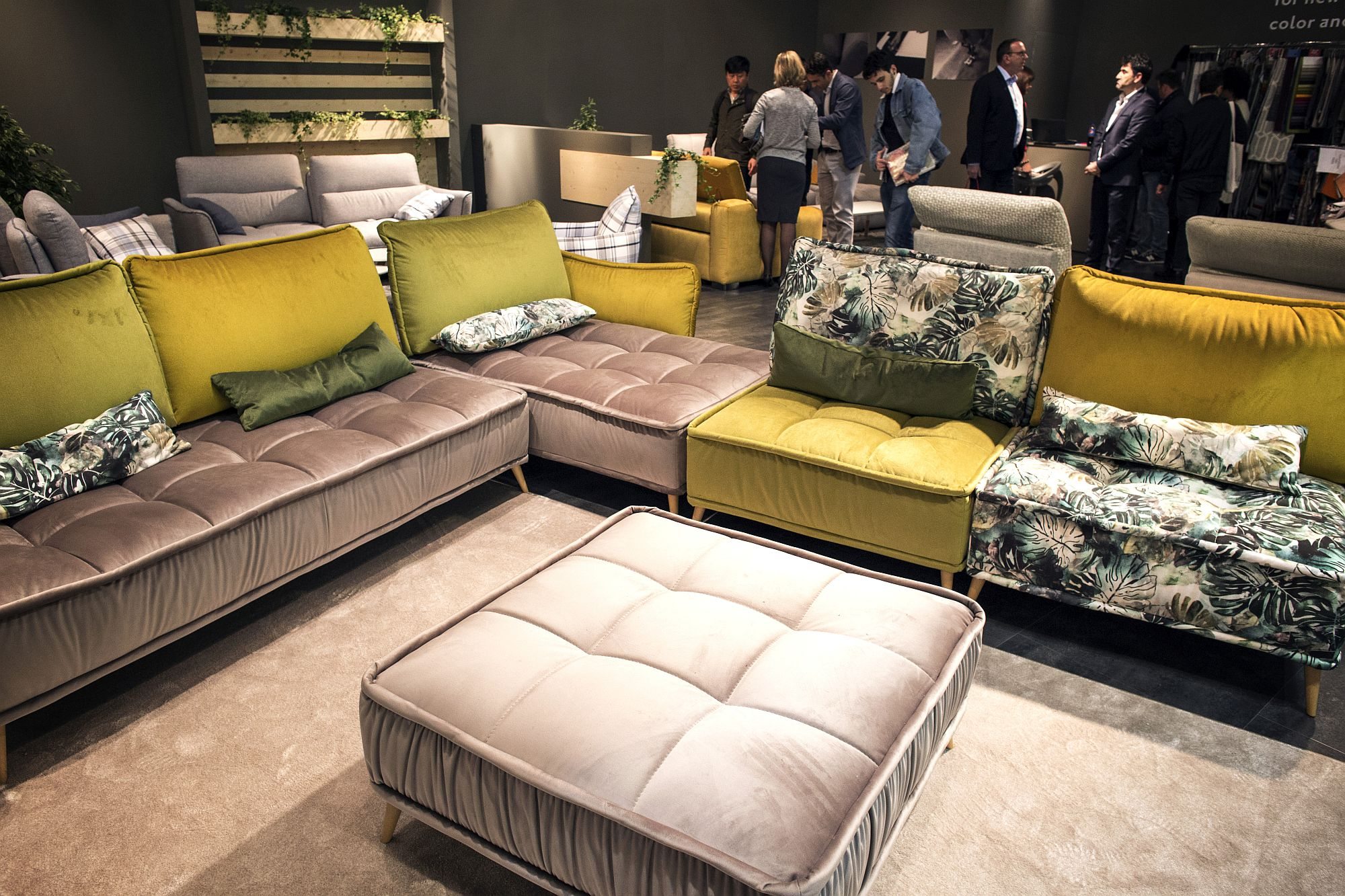 seasonal finds  trendy sofas and sectionals that captivate with color
