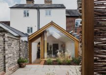 Oak brick and frameless glazing create an elegant rear extension to heritage home 217x155 This Grade II Listed English Cottage Gets a Picture Perfect Modern Extension