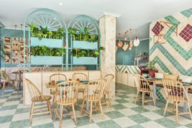 Vivacious Splash of Color and Pattern: Revamped Pizzeria in Valencia