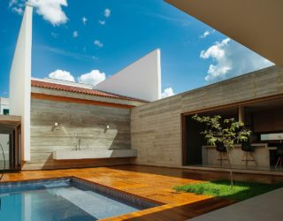 Cuiabá House: Open Family Home in Brazil with Shaded Outdoor Spaces