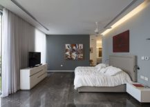 Polished-contemporary-bedroom-in-gray-and-white-217x155