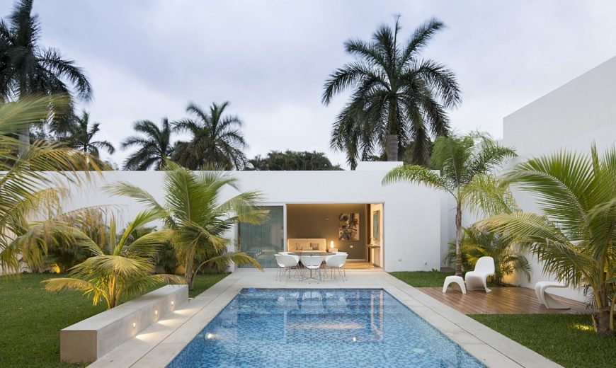 This Contemporary House in Yucatan is Designed for the Perfect Staycation!