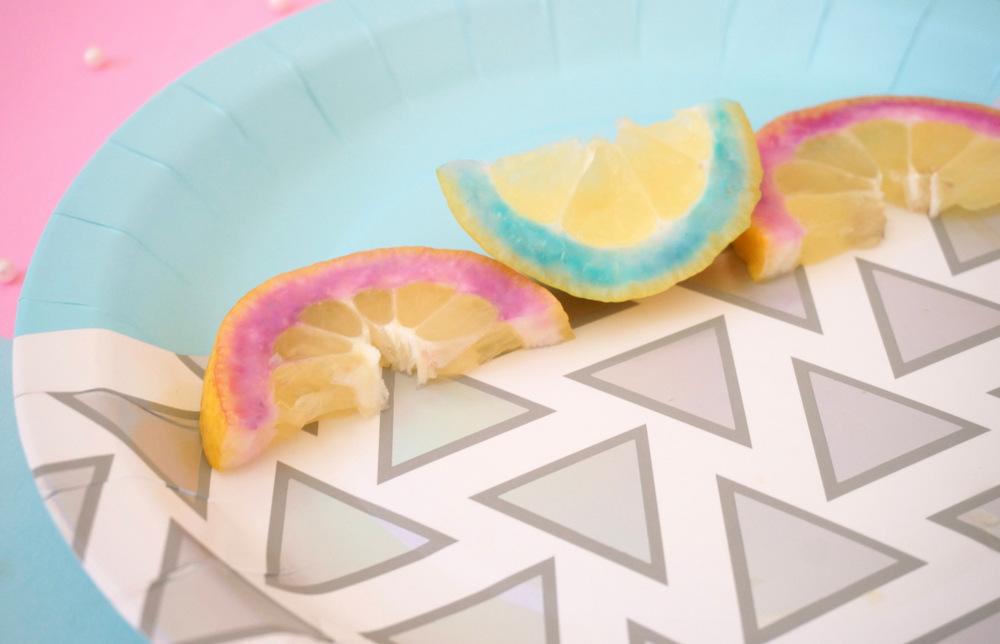 Purple lemons